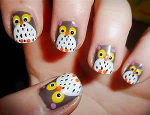Autumn Nail Art ~ Autumn Posters Picture