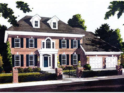 georgian colonial house plans webster woods georgian home plan 065s 0015 house plans
