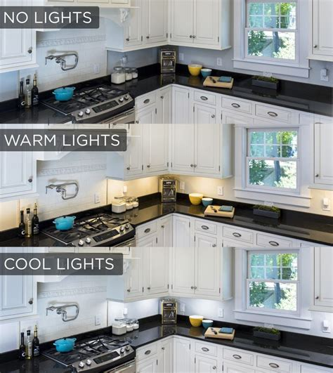 color temperature for kitchen best 25 cabinet lighting ideas on 5556