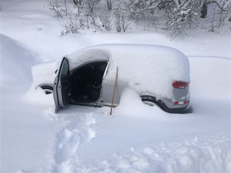 Even More Pictures Of Cars Covered In Snow…