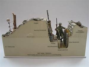 Detailed Military Models Of Wwi Trench Warfare By Andy Belsey