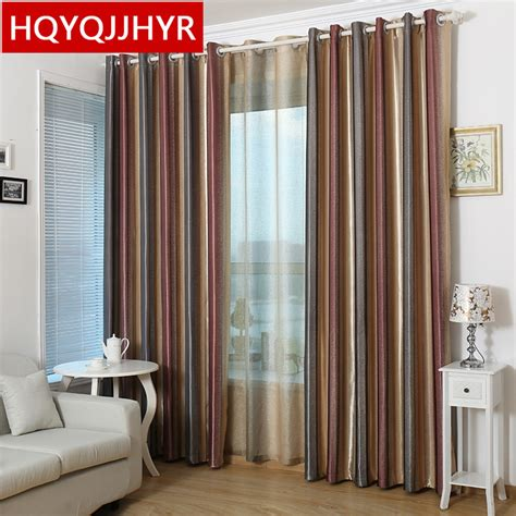 vertical stripe curtains rooms