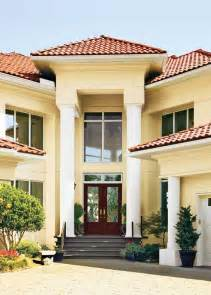 Exterior Paint Colors with Red Tile Roof