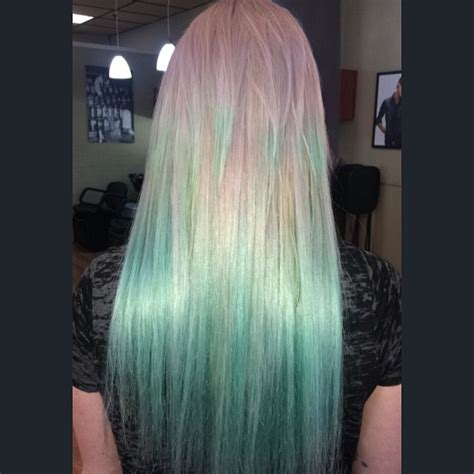mystical mint ombre