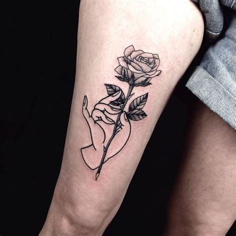 flowers tattoo images  pinterest cute small