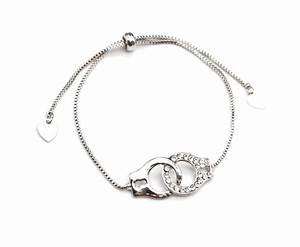 bc1862e bracelet chaine ajustable avec menottes metal With robe de cocktail combiné avec bracelet chaine argent