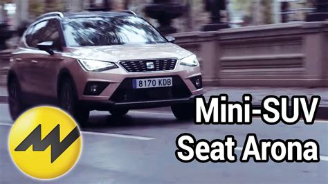 mini suv test mini suv seat arona 2018 test in barcelona