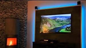 Tv An Wand Anbringen : laminatboden an der wand montieren verlegeanleitung haro laminat deutsch ~ Markanthonyermac.com Haus und Dekorationen