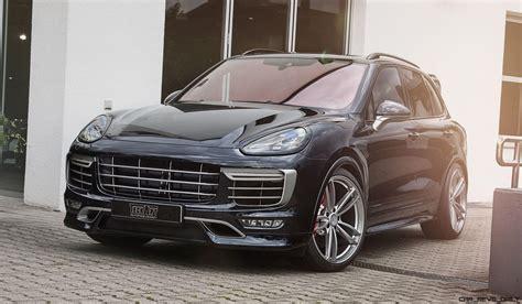 Techart Magnum Sport For Porsche Cayenne Is New Carbon