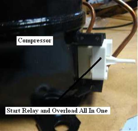 Freezer Start Relay Switch Wiring Diagram by Refrigerator Not Cooling Repair Guide