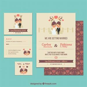 cute wedding invitation template vector free download With wedding invitations ai template