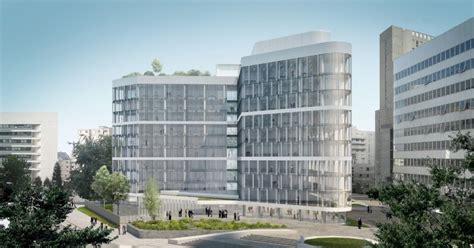 société générale siège social sogeprom va transformer l immeuble ampère en l immeuble e