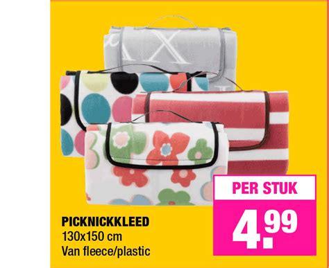 foto de Picknickkleed Xxl Aanbieding bij Kruidvat