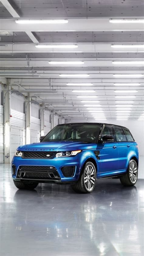 Black Range Rover Iphone Wallpaper by Land Rover Range Rover Sport Svr 2015 Wallpaper Free