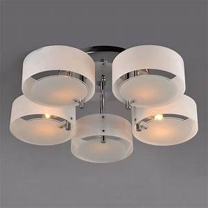 Italy Romantic Lustres Acrylic Art Brief Ceiling Light 5