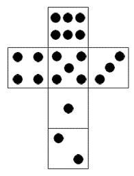 image result  making  dice   paper