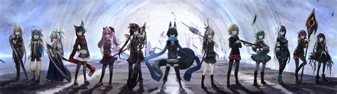Dual Screen Wallpaper Anime - wallpaper anime original characters dual monitors