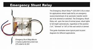 Lc U0026d How To Wire A On  Off Switch With A Gr2001 E  S Shunt  U2013 Acuity Support