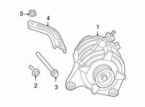2009 Volkswagen Routan Alternator Bracket Bolt  3 8 Liter