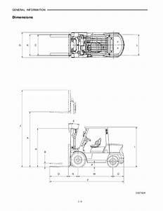 Mitsubishi Fg40 Kl Forklift Trucks Service Repair Manual Sn Uff1af29c 5000 U2026