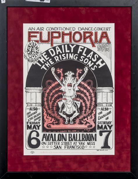 Lot Detail - Lot of (7) Vintage Concert Posters - 2 Framed ...