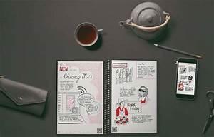 rocketbook everlast reusable smart notebook gadgetsin With rocketbook erasable reusable wirebound notebook letter size