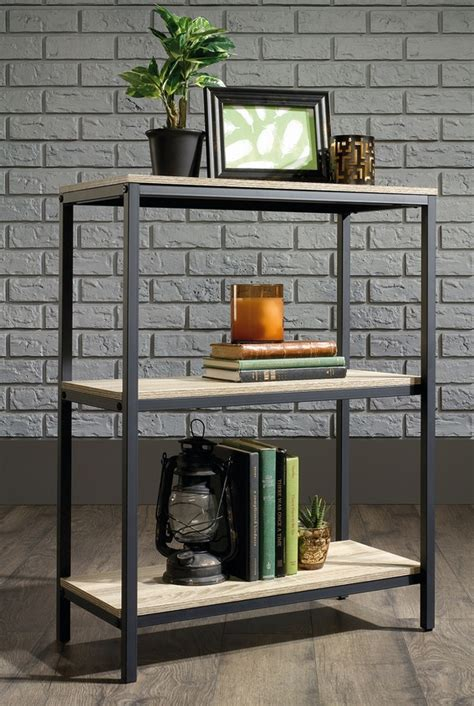 Industrial Style Bookcase by Industrial Style 3 Shelf Bookcase