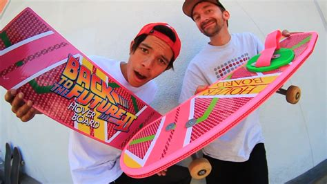 bttf hoverboard skateboard deck back to the future hover board skate everything ep 22