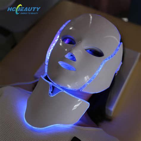Facial Rejuvenate Colorful Led Beauty Mask for Wrinkles