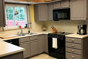 kitchen best type of paint for kitchen cabinets gray With kitchen cabinet trends 2018 combined with wall art chalkboard
