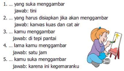 Tulis namamu di sudut kanan atas 2. RPP SD: RPP Siklus 1 Bahasa Indonesia Kelas 2