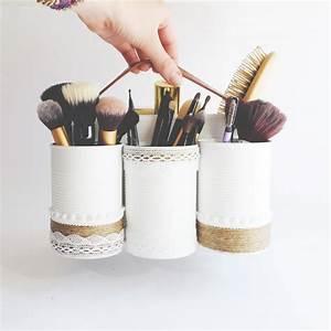 Boite De Rangement Maquillage : diy 2 ranger avec des bo tes de conserve olly magazine ~ Dailycaller-alerts.com Idées de Décoration