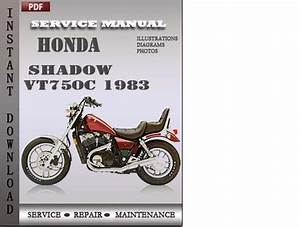 1983 Honda Vt750c Wiring Diagram