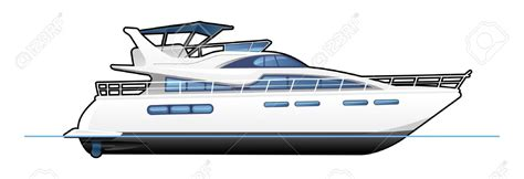 Motor Boat Cartoon Images by Motor Yachts Clipart Clipground