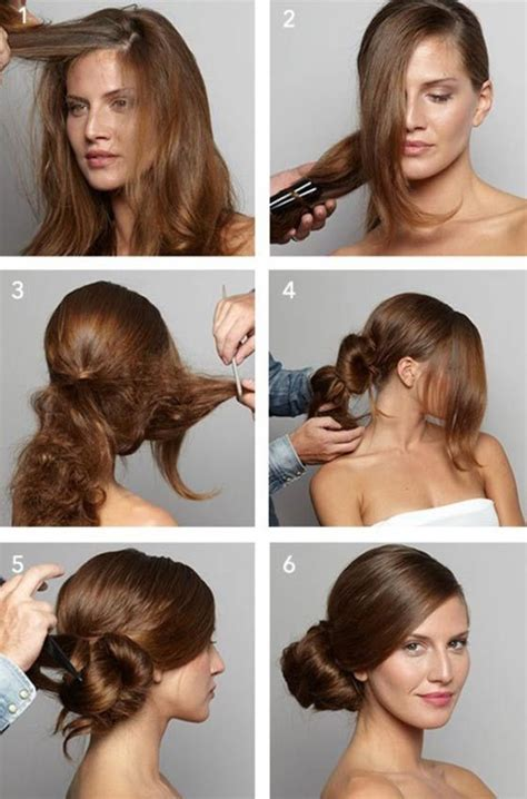 awesome hairstyles  hide  big forehead side bun