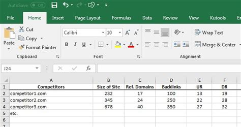 Excel Example Ur And Dr