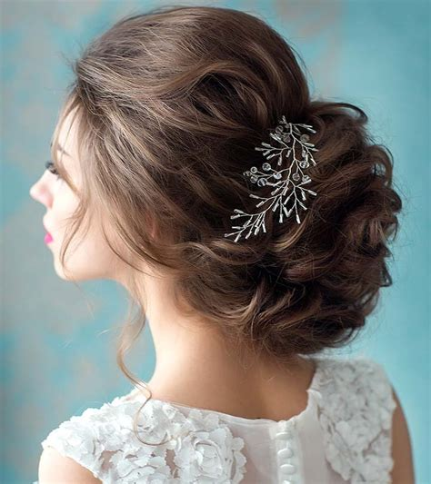 fabulous bridal hairstyles  short hair