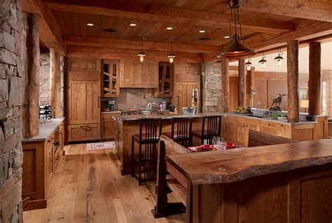 Rustic Kitchen Lighting Ideas by Modern Rustic Kitchen Lighting By Aldo Bernardi Usa By