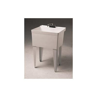 fiat fl 1 sink fiat crane single bowl utility sink fl1 white i want it