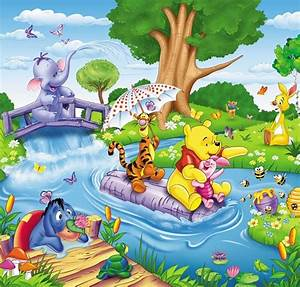 Ferkel Winni Pooh : 5 47 m2 bambini fotomurale winnie pooh carta da parati stanza poster the pooh suinetti aah ~ Orissabook.com Haus und Dekorationen