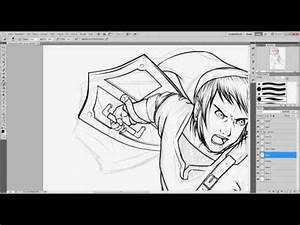 Zeichnen Am Pc Lernen : tutorial part1 manga outlines zeichnen ohne grafiktablett german zeichnen lernen ~ Markanthonyermac.com Haus und Dekorationen