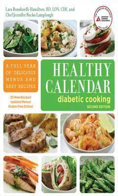 healthy calendar diabetic cooking  full year