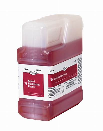 Disinfectant Cleaner Neutral Facilipro Ii Ecolab Surface