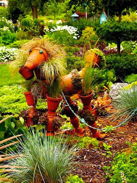 vasi giardino terracotta decorazioni da giardino con vasi di terracotta
