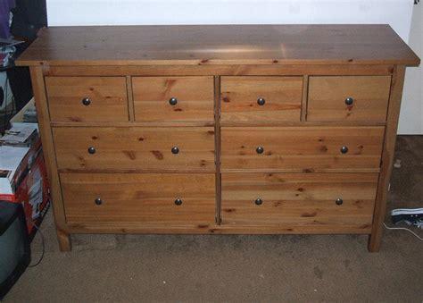 Ikea Hemnes 8 Drawer Antique Stain Dresser Victoria City