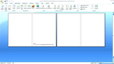 templates for word microsoft word birthday card template images template design ideas