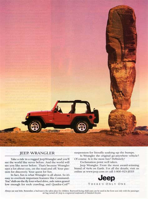 jeep wrangler ads suv ad comparisons