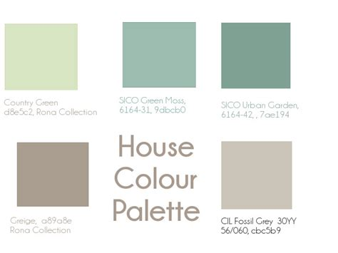 paint colours and a whole house palette joey janice