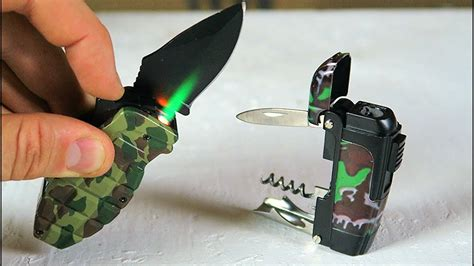 Multi Dfgarer Test by 6 Multi Tool Lighter Gadgets Put To The Test