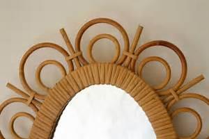 Miroir En Rotin : le march biron miroir en rotin 1950 ~ Nature-et-papiers.com Idées de Décoration
